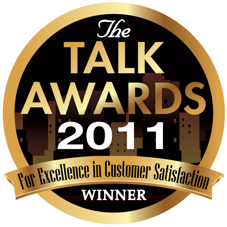2011 TALK AWARD FOR EXCELLENCE IN CUSTOMER SERVICE