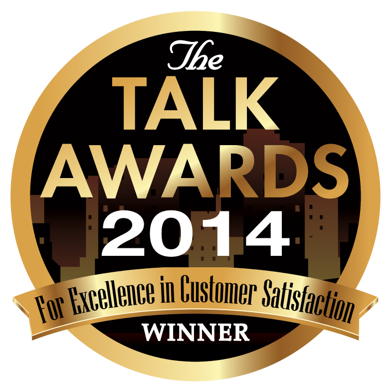 2014 TALK AWARD FOR EXCELLENCE IN CUSTOMER SERVICE