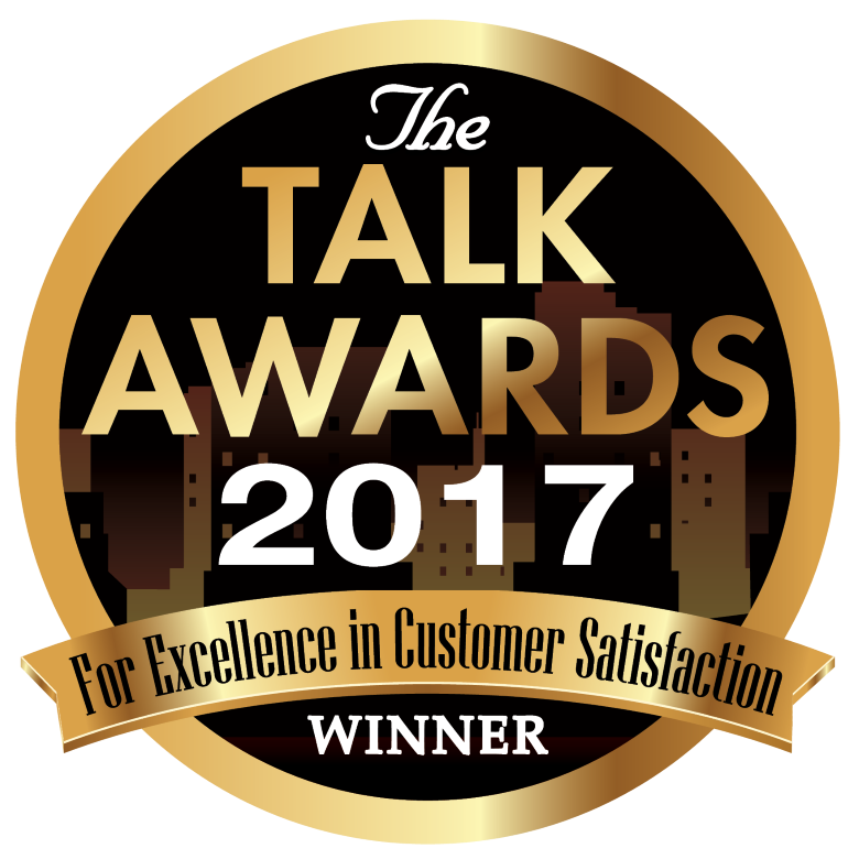 2017 TALK AWARD FOR EXCELLENCE IN CUSTOMER SERVICE