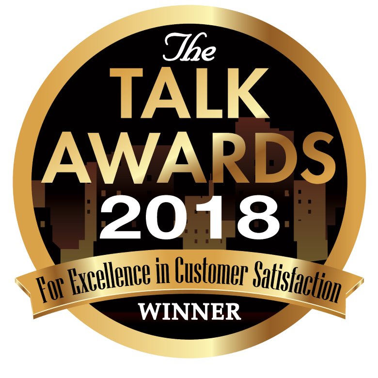 2018 TALK AWARD FOR EXCELLENCE IN CUSTOMER SERVICE