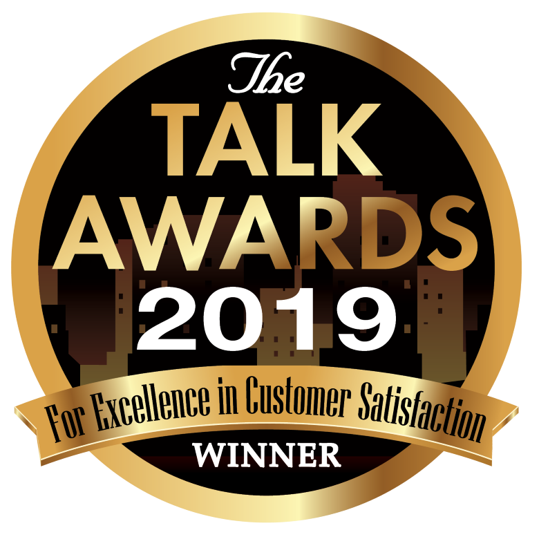 2019 TALK AWARD FOR EXCELLENCE IN CUSTOMER SERVICE