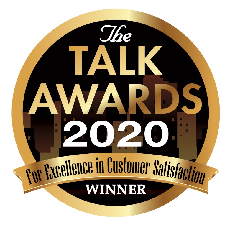 2020 TALK AWARD FOR EXCELLENCE IN CUSTOMER SERVICE