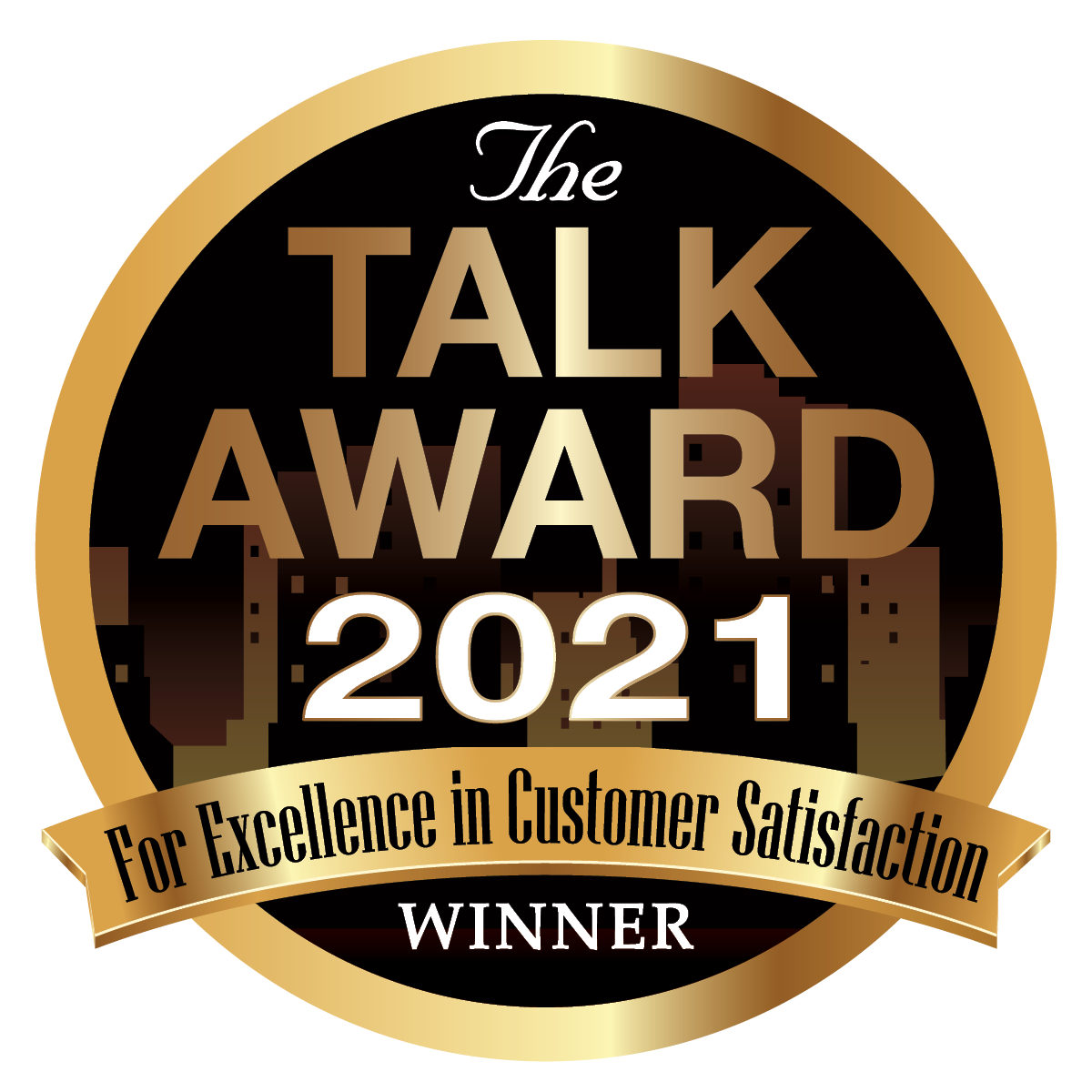 The Talk Award for Excellence in Customer Service